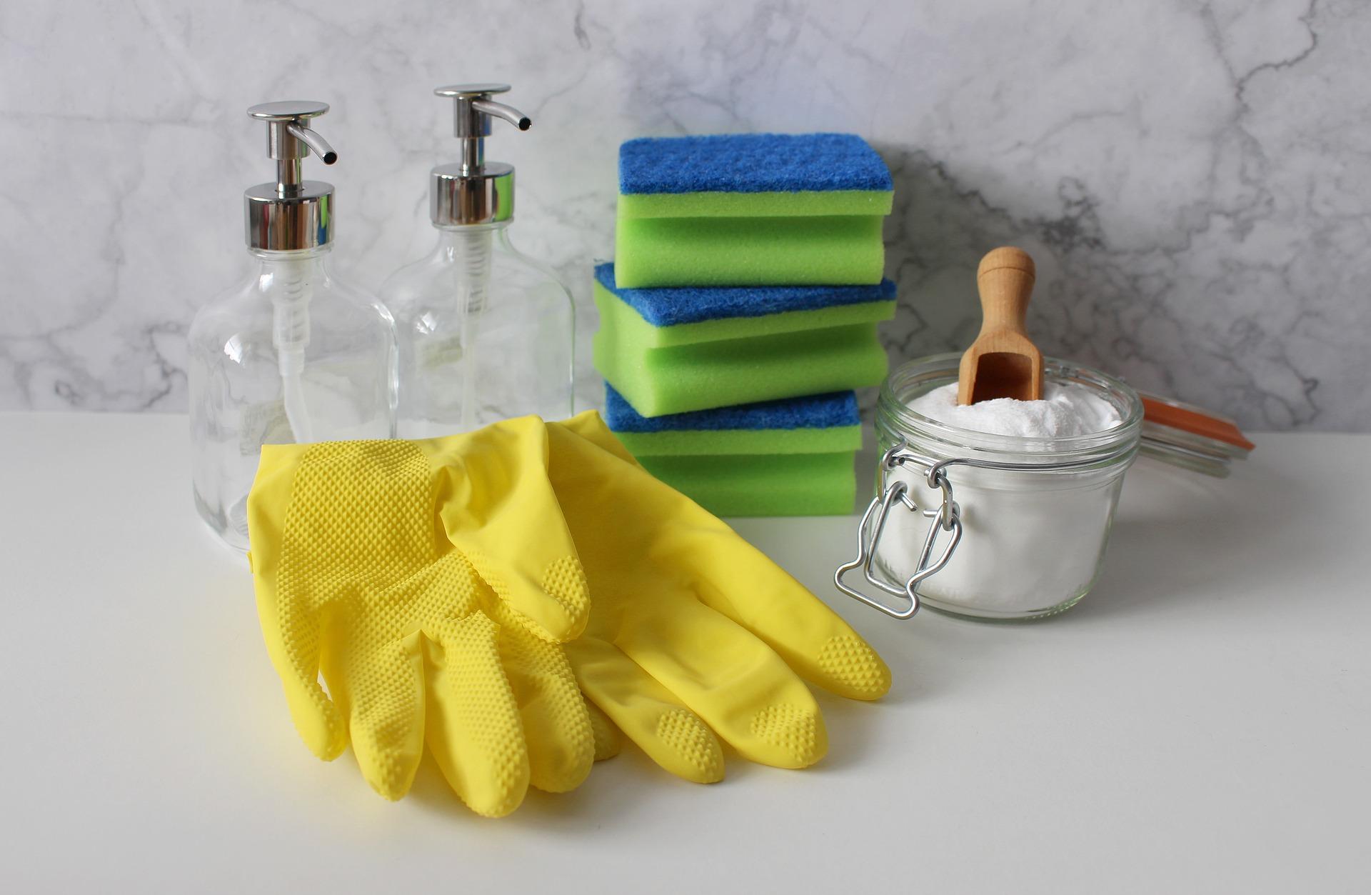 material de limpieza